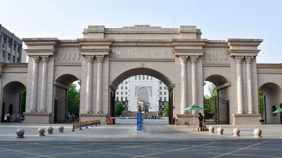 河南师范的学校风景